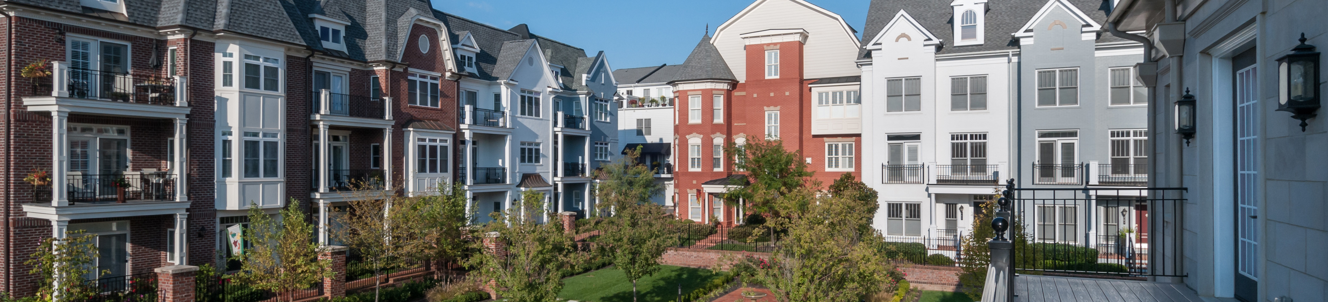 Townhome Style Monument Square Model Luxury Homes