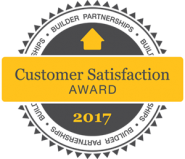 Builder Partnerships Customer Satisfaction Award 2017